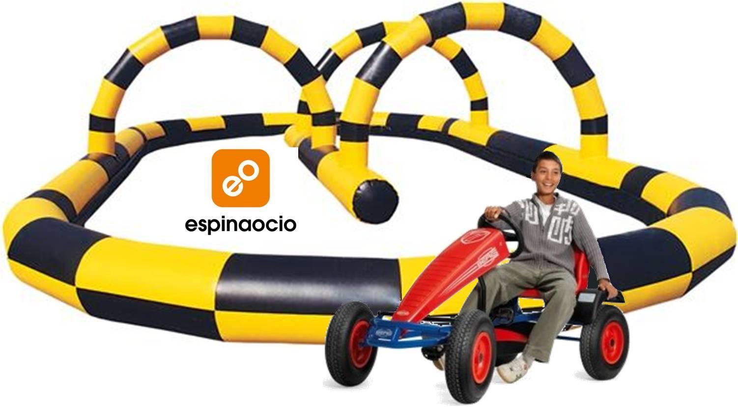 Circuito de karts de pedales